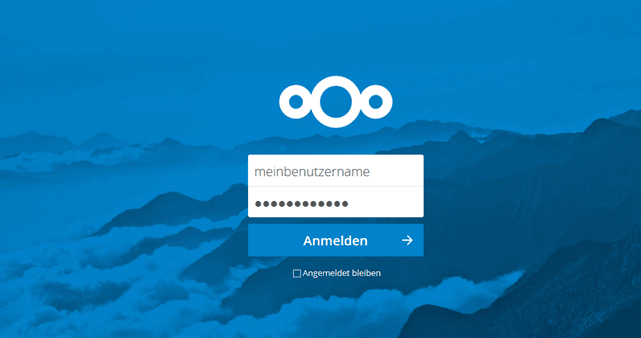 Nextcloud Login